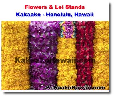 Flowers Amp Lei Stands Kakaako Honolulu Hawaii
