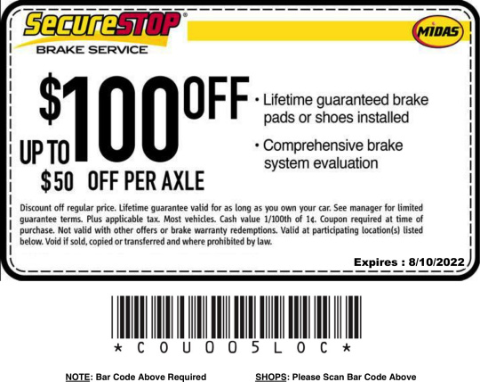 Midas Brake Coupons >> Auto Repair Maintenance Coupons Discount Offers Promotions Midas